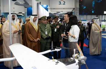 Mansour bin Zayed opens UMEX and SimTEX 2020, launches first UAE-made VTOL drone