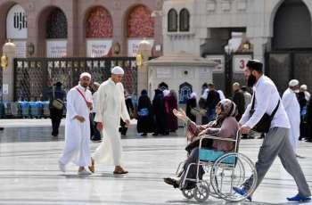 منظومة من الخدمات لقاصدي المسجد النبوي