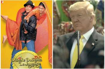 """US President mentions Shah Rukh Khan's movie """"Dilwale Dulhania Le Jayenge"""""""
