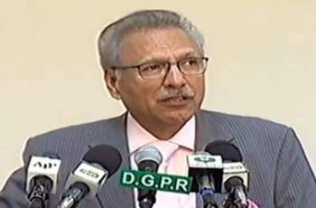 People, armed forces of Pakistan bravely faced challenge of terrorism:  President Dr. Arif Alvi