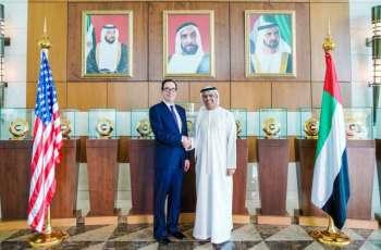 Obaid Al Tayer meets US Secretary of Treasury
