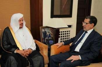 رئيس الحكومة المغربية يستقبل رئيس مجلس الشورى