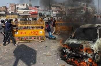 Violent protests new Dehli: Five people died, several others injured
