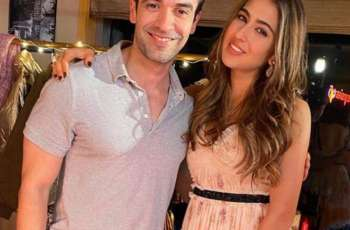Sara Ali Khan with her  newest' fan Punit Malhotra