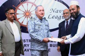 Chief Of The Naval Staff Inagurates Reconstructed Building Of Navy League Held School At Baba Island, Karachi