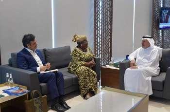 الدكتور الربيعة يلتقي رئيسة مجلس التحالف العالمي للقاحات والتحصين