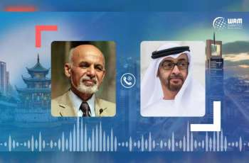 Mohamed bin Zayed congratulates Afghan president on new presidential term