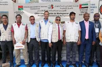 الإمارات تقدم مساعدات غذائية عاجلة لـ 32 ألف أسرة في مدغشقر