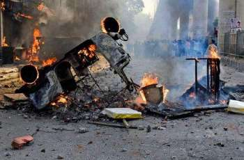 Curfew call in Indian capital after 20 die in sectarian clashes