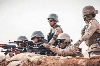 اختتام مناورات التمرين المشترك (الصمصام 7 ) بين القوات البرية الملكية السعودية والقوات البرية الباكستانية