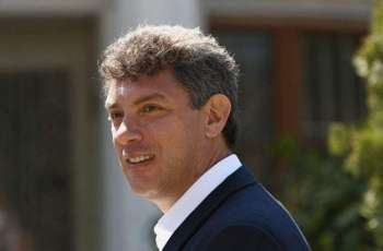 Kremlin Has No Initiatives to Perpetuate Murdered Russian Politician Nemtsov's Memory