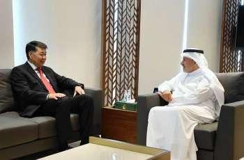 الدكتور الربيعة يلتقي سفير جمهورية كازاخستان لدى المملكة
