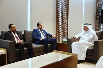 الدكتور الربيعة يلتقي وزير الشباب والرياضة اليمني