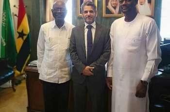 سفير المملكة لدى غانا يلتقي مسؤلان بهيئة تنمية المنطقة الشمالية في غانا