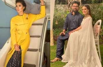 Mehwish Hayat showers love on Iqra Aziz, Yasir Hussain