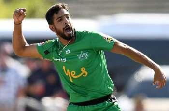 Setback for Qalandars as Haris Rauf feels pain in his right heel