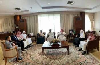 سفير المملكة لدى إندونيسيا يستقبل الأمين العام لرابطة العالم الإسلامي