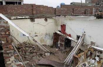 Two killed, three injured in roof collapse incident in Attock