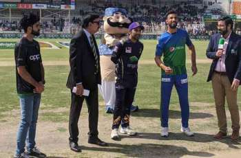 Multan Sultans opt to bat first against Gladiators