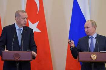 Turkish President Recep Tayyip Erdogan Says Asked Putin to Leave Turkey Dealing With Damascus 'One on One'