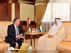 صقر غباش يبحث تعزيز علاقات التعاون البرلماني مع سفراء الأردن وصربيا والقائم بأعمال روسيا الاتحادية