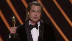 Brad Pitt sought help from David Fincher while writing his hilarious acceptance speeches