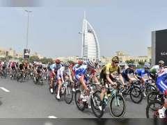 الإعلام الدولي يسلط الضوء على النسخة الثانية لطواف الإمارات