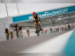 """أصحاب الهمم من الرياضيين الإماراتيين يشاركون في تحدي """"ترايثلون ياس"""""""