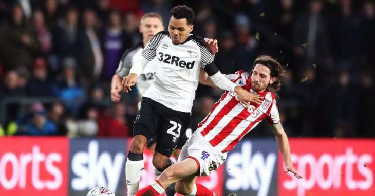 Derby beat Stoke City in Championship
