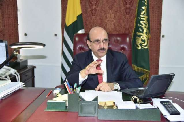 Indian Presence In Iojk Illegal, Their Crimes Unacceptable And Unforgivable: Masood Khan