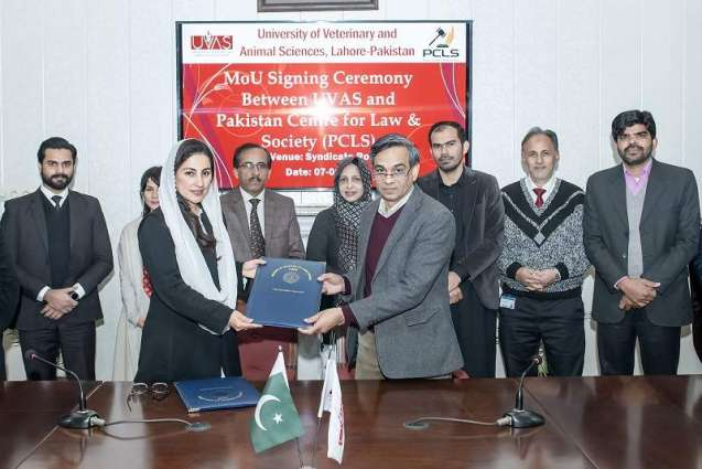 UVAS inks MoU withlaw centre