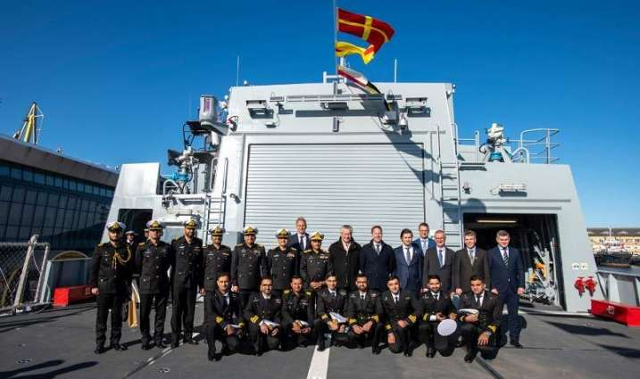 Commissioning Ceremony Of Pakistan Navy's Offshore Patrol Vessel – Pns Yarmook Held At Romania