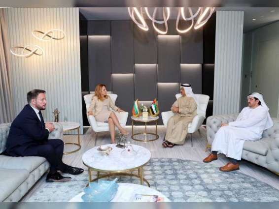 Sultan Al Mansouri, Bulgarian minister discuss strengthening economic and commercial relations