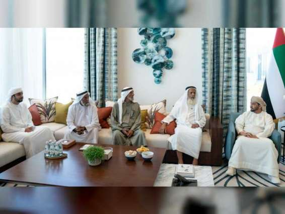 Hamdan bin Zayed receives number of citizens in Dhanna Mount