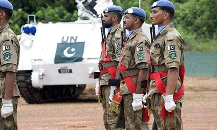 Pakistan has been part of 46 UN Peacekeeping missions across the world