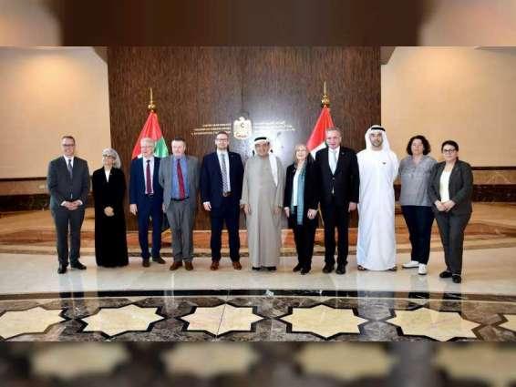 Zaki Nusseibeh receives German parliamentary delegation