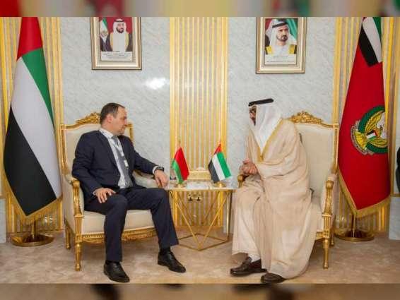 Al Bowardi meets Armenian, Belarusian ministers