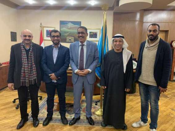 وفد جمعية الصحفيين  يزور مقر نقابة الصحفيين المصريين