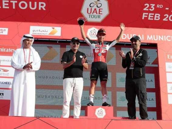 ايوان كاليب بطلا لمرحلة حتا في طواف الإمارات