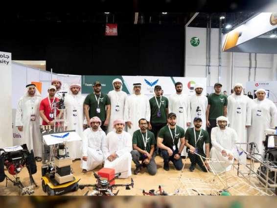 Hamed bin Zayed visits UMEX, SimTEX 2020