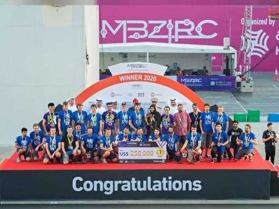 Mohamed bin Zayed International Robotics Challenge concludes in Abu Dhabi