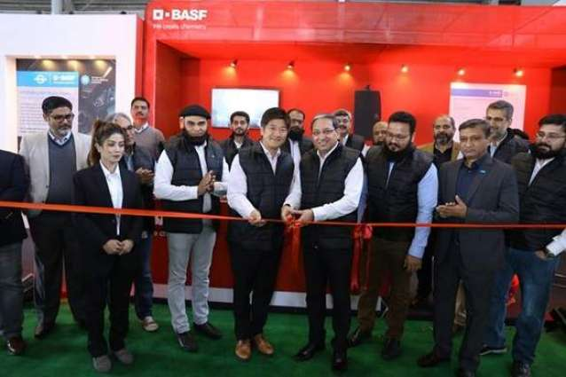 BASF showcases e-mobility solutions at Pakistan Auto Show 2020