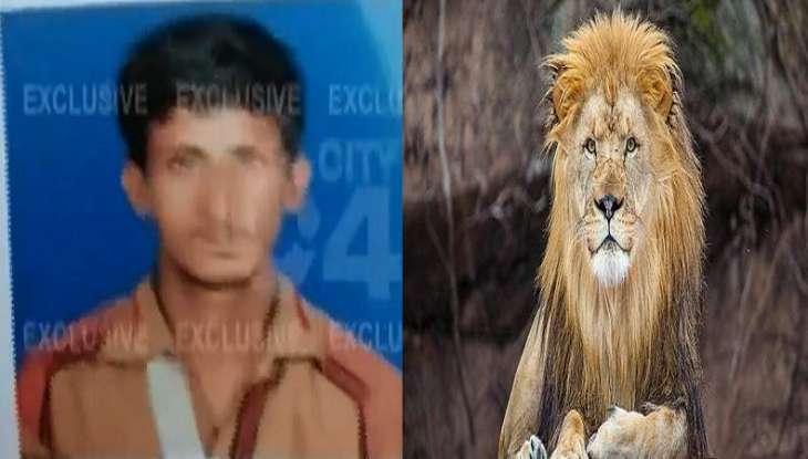 مقتل شاب باکستاني اثر ھجوم الأُسد داخل الحدیقة في مدینة لاہور