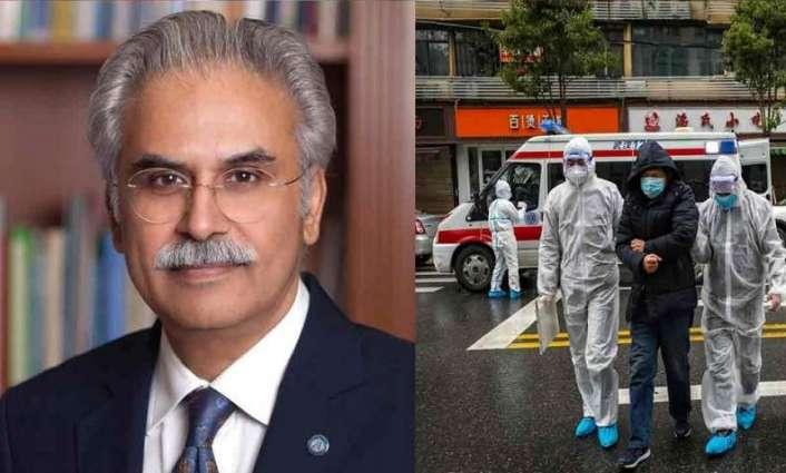 مساعد رئیس الوزراء الباکستاني لشوٴون الصحة یوٴکد تسجیل أول اصابتین بفروس کورونا في البلاد