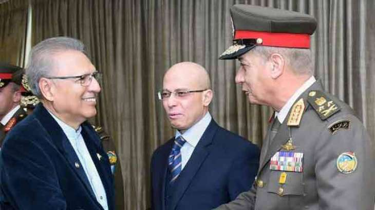 Pakistan, Egypt have strong defence relations: President