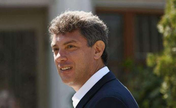 Kremlin Has No Initiatives to Perpetuate Murdered Russian Politician Nemtsov's Memory