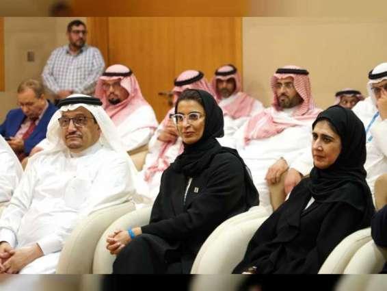 نورة الكعبي تستقبل وزير التعليم السعودي في جامعة زايد