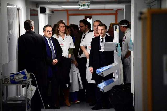 French President Says Coronavirus Disease Outbreak Yet to Come to Country
