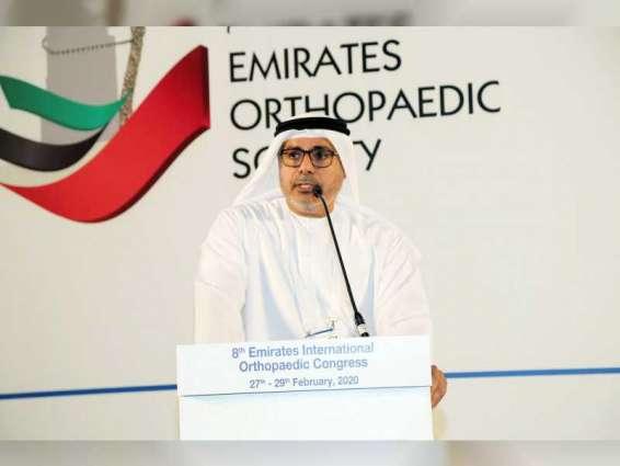 750 طبيبا من ٢٤ دولة يشاركون فى المؤتمر الإماراتي العالمي لجراحة العظام بدبي اليوم