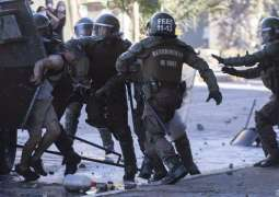 Chilean Police Detain 62 People After Another Wave of Protests